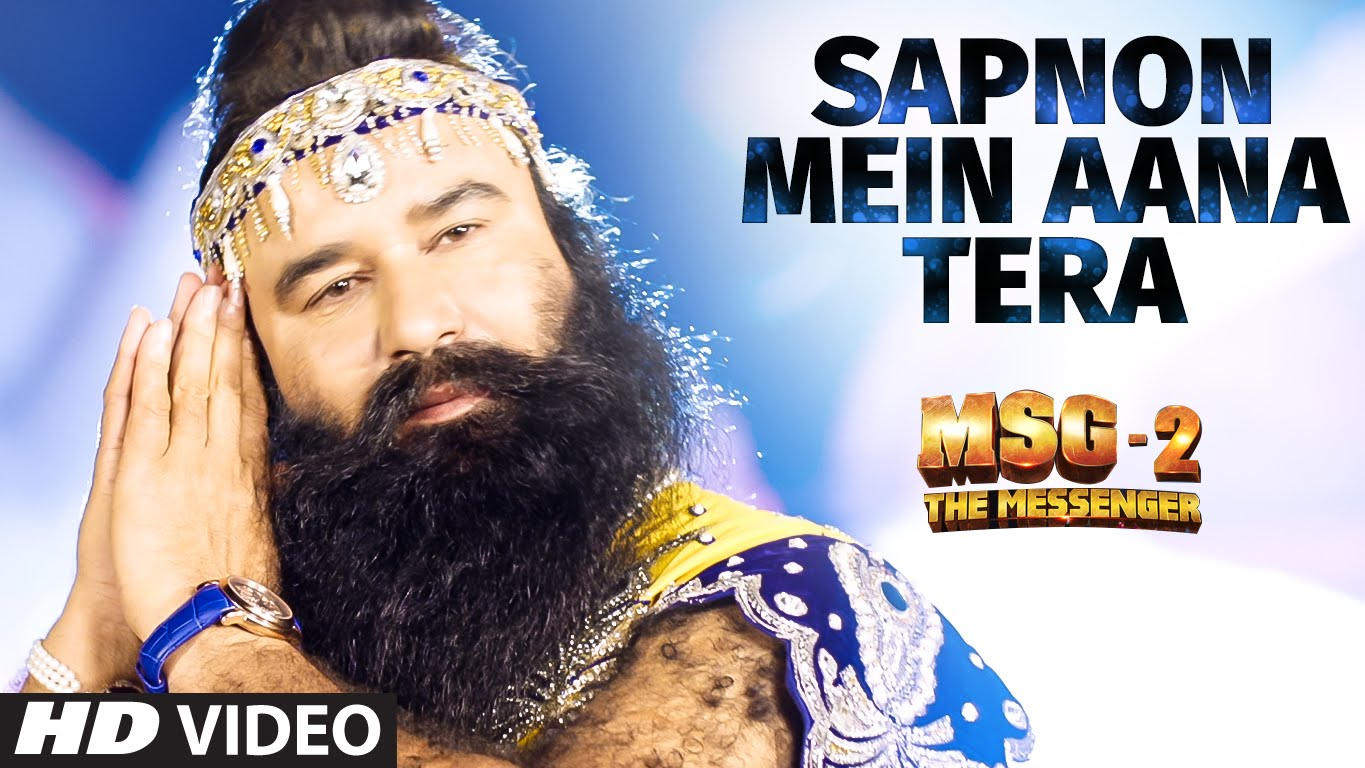 Sapnon Mein Aana Tera VIDEO Song | MSG-2 The Messenger | T